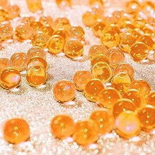 orange water pearls