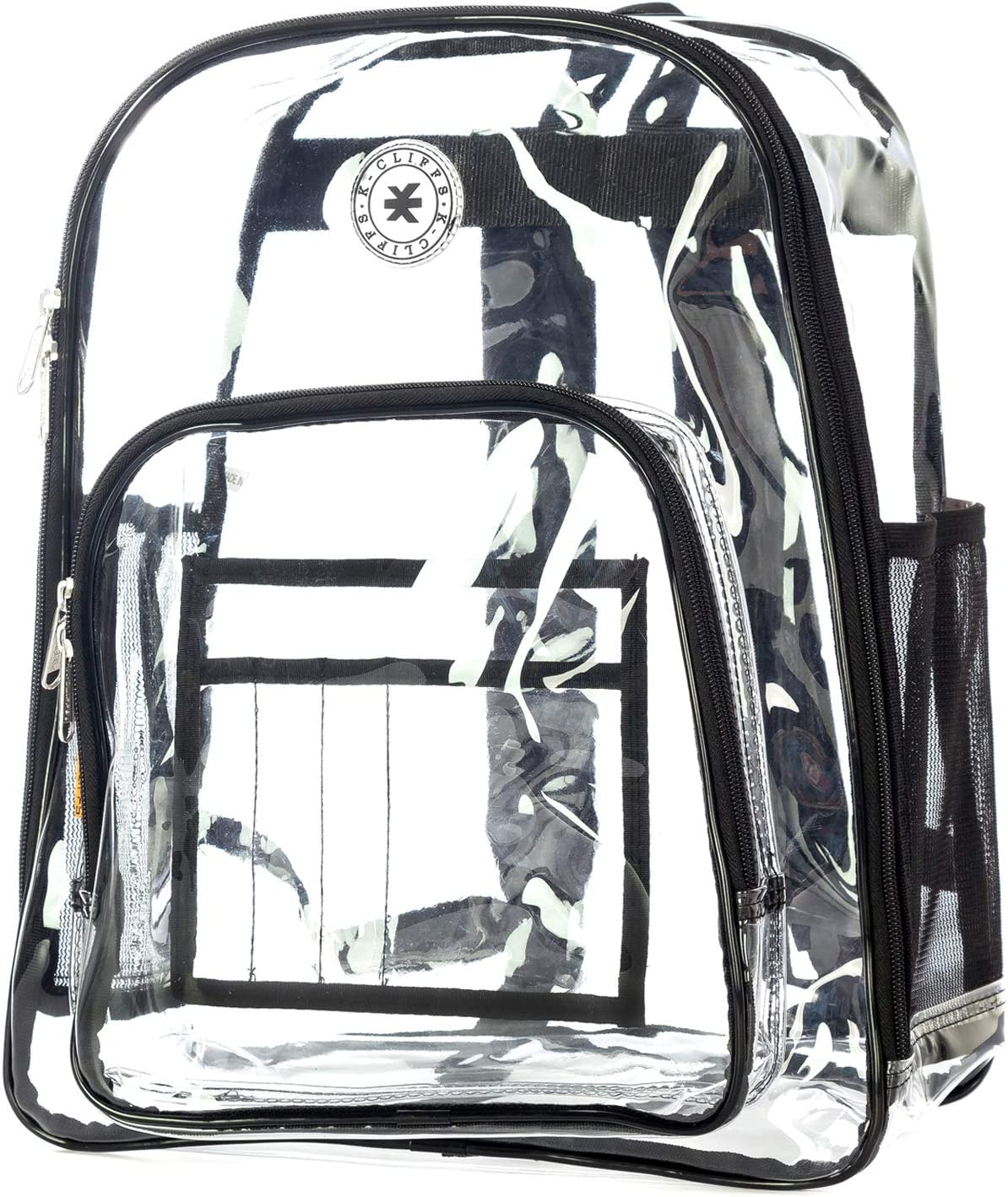 Heavy Duty Clear Backpack Raleigh Mall See depot Through Security PVC Stadium Trans