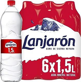 Lanjarón Agua Mineral Natural - Pack de 6 x 15L