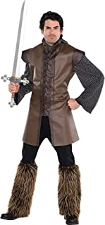 Amscan 842982 Renaissance Warrior Tunic - Adult Standard, Multicolor, Small
