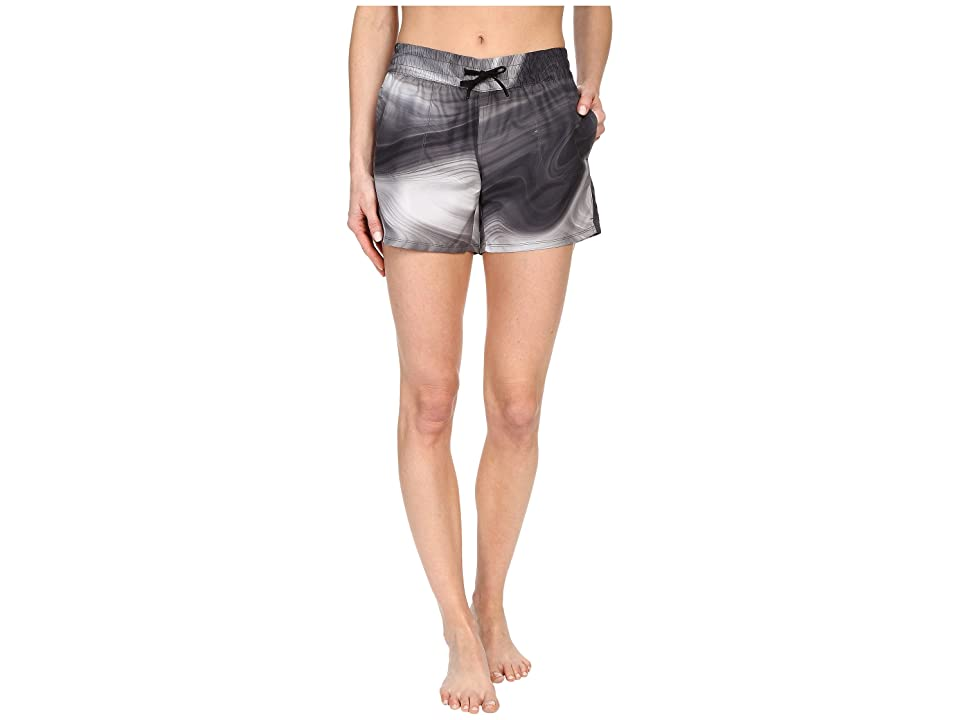 The North Face Printed Class V Shorts (Graphite Grey Water Swirl Print (Prior Season)) Women