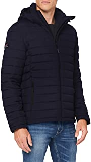 Superdry Men's Hooded Fuji Jacket Quilted