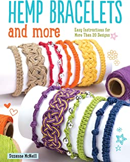 Hemp Bracelets and More: Easy Instructions for More Than 20 Designs (Design Originals)