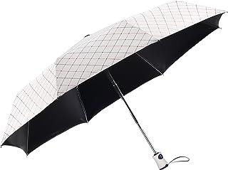 Rainbrace UV Sun Umbrella Compact Folding Travel Umbrella Auto Open and Close for Windproof, Rainproof & 99% UV Protection...