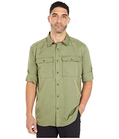Mountain Hardwear Canyontm L/S Shirt (Dark Army) Men