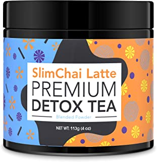 Slim Chai Tea Latte - Premium Detox Tea For Weight Loss And Energy - Concentrated Teatox