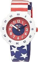 Flik Flak Kids' Quartz Plastic Strap, Blue, 16 Casual Watch (Model: ZFPSP028)