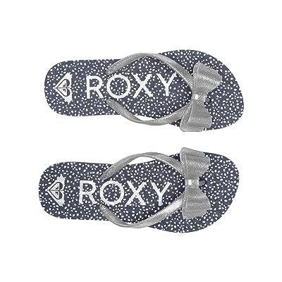 Roxy Kids Lulu III (Little Kid/Big Kid) (Navy/Light Grey) Girls Shoes