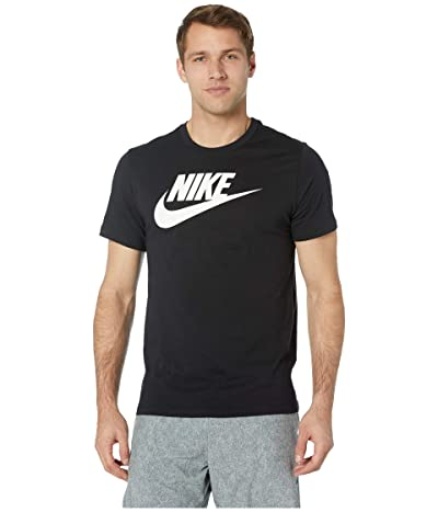 Nike NSW Icon Futura Tee (Black/White) Men