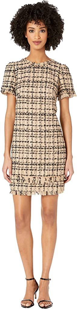 Heart It Bicolor Tweed Dress