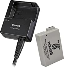 Canon Replacement LC-E8E Quick Charger for Canon LP-E8 Li-ion Battery Compatible with Canon Canon EOS 550D, 600D, 650D, 700 D, EOS Rebel T2i, T3i, T4i, T5i , Kiss X4, X5, X6
