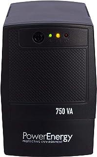 POWER ENERGY NO Break 750VA 6 CONTAC REGULADOR DE Voltaje Y SUPRESOR DE Picos