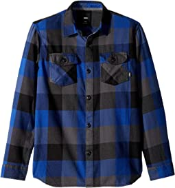 Box Long Sleeve Flannel (Big Kids)
