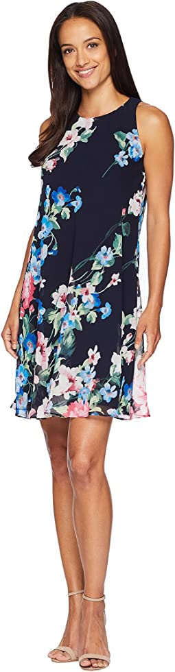 B541 Catamaran Floral Geminah Sleeveless Day Dress