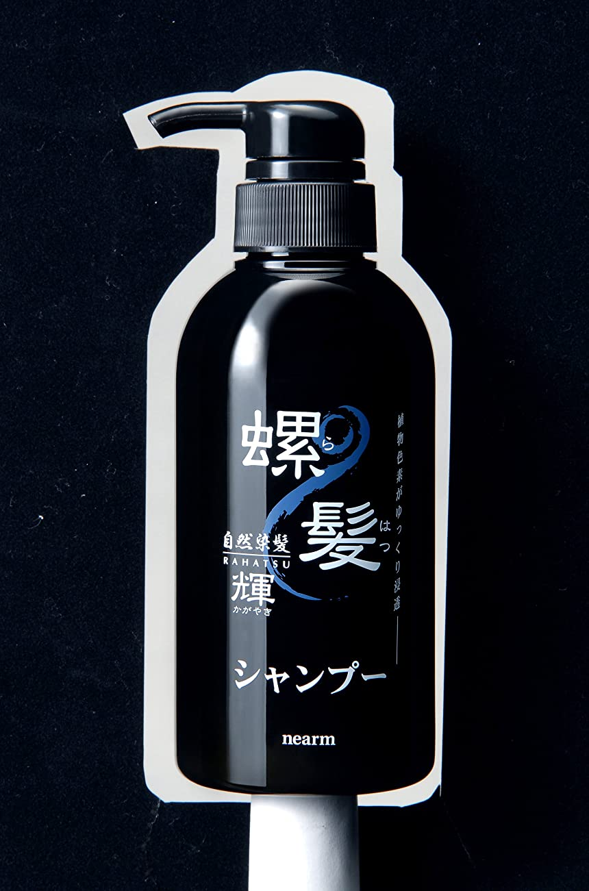 基準ブーム大脳ネアーム螺髪輝シャンプー&ヘアパックセット(ブラック)