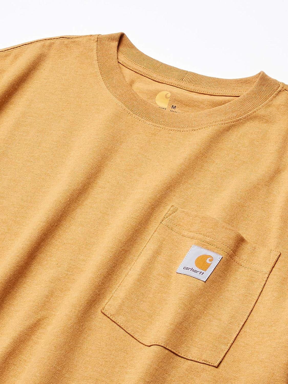 Carhartt Mens Workwear Jersey Pocket Long-Sleeve Shirt K126 Regular and Big /& Tall Sizes