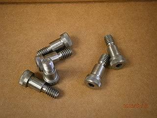 M6 x M5 x 35 MM Coarse Thread ISO 7379 Class 12.9 Socket Shoulder Screw Alloy Steel Black Oxide Pk 50