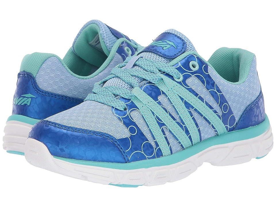 Avia Kids Rhea (Little Kid/Big Kid) (Cambridge Blue/Snorkel Blue/Aruba Aqua) Girls Shoes