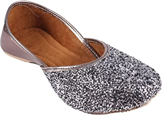 FLOWFLYING Womens Ethnic Rajasthani Bellies Mojari Shoes