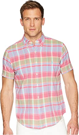 Polo Ralph Lauren Madras Short Sleeve Sport Shirt