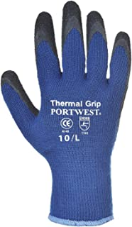 Portwest Thermal Grip Gloves (A140) / Workwear/Safetywear (Pack of 2)