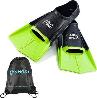 comprar comparacion Aqua Speed Fusion Aletas largas de natación para Adultos y niños + ULTRAPOWER #Swim | Aletas de Entrenamiento de natación ...