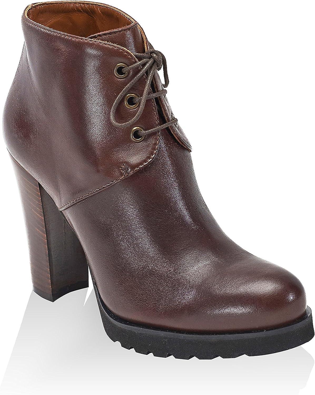 British Passport Damen Plain Ankle Stiefel