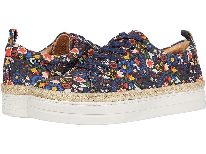Jack Rogers Mia Floral Platform Sneaker