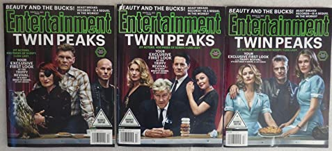 Entertainment Weekly Magazine (March 31, 2017) All Three Covers - Twin Peaks