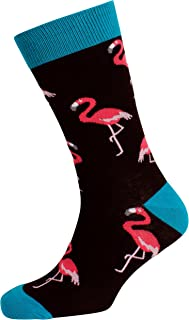 Mitch Dowd Men's Flamingos Crew Socks
