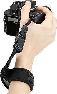 Correa de Mano / Empuñadura para Cámara Réflex por USA GEAR Compatible con cámaras Nikon Canon Sony Alpha Pentax y muchas más