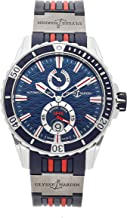 Ulysse Nardin Marine Mechanical (Automatic) Blue Dial Mens Watch 263-10-3/93 (Certified Pre-Owned)