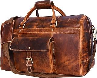 Best leather men's weekender bag Reviews