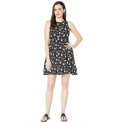 Rock and Roll Cowgirl Sleeveless Dress D5-9637 (Black) Women