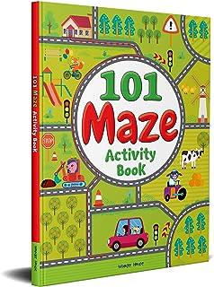 101 Maze Activity Book : Fun Activity Book For Children
