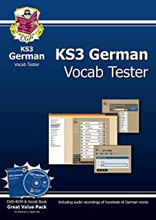 KS3 German Interactive Vocab Tester - DVD-ROM and Vocab Book