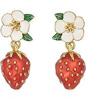 Kate Spade New York - Picnic Perfect Strawberry Drop Earrings