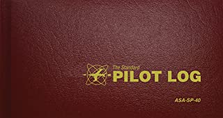 The Standard Pilot Log (Burgundy): ASA-SP-40 (Standard Pilot