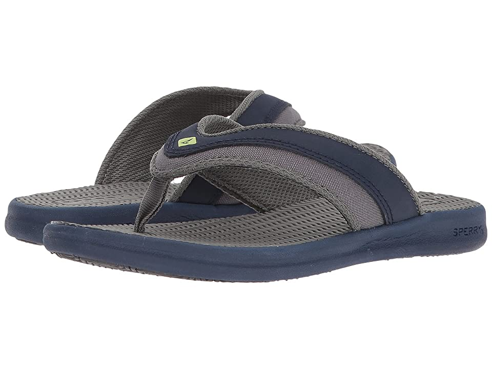 Sperry Kids Gamefish Sandal (Little Kid/Big Kid) (Navy/Grey) Boys Shoes