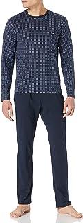 Emporio Armani Men's Underwear Pyjamas Pattern Mix Pajama Set