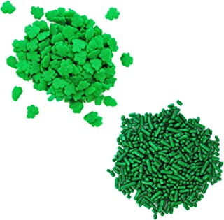 Dress My Cupcake Edible Decorating Bundle with Sprinkles and Edible Confetti, St. Patrick's Day Shamrocks