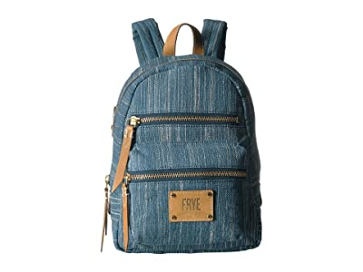 Frye Ivy Mini Backpack (Denim) Backpack Bags