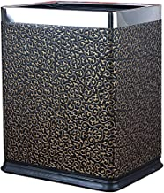 JJZXD Rectangular Trash Can Wastebasket, Small Garbage Container Bin for Bathrooms, Powder Rooms, Kitchens, Home Offices