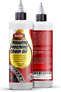 RowRight Rowing Chain Oil: Pure Rower Oil That was Designed for The Concept 2 Rowing Machine Chain.