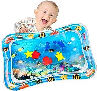 Yosemy Tapis d'eau Gonflable pour Bébé Tapis de Jeu Gonflé Coussin Gonflable de Rempli d'eau Amusement d'activité d'enfant...