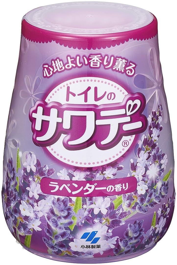 パーチナシティピルサワデー 消臭芳香剤 トイレ用 本体 こころ落ち着くラベンダーの香り 140g