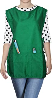 Opromo Unisex Cobbler Uniforms with 2 pockets, Art Smock Aprons for Adult Women Men, Polyester-Cotton,19 x 28 inches