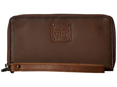 STS Ranchwear Rosa Wallet (Tornado Brown) Handbags