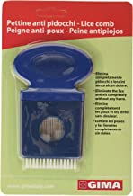 Gima - Manual Lice Comb, Suitable for Children and Adults, in Plastic with Metal Teeth, Mechanical Method against Lice, Without Chemical Agents.