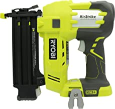 Ryobi P320 Airstrike 18 Volt One+ Lithium Ion Cordless Brad Nailer (Battery Not Included,..